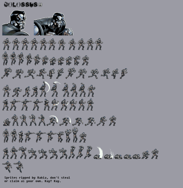 20+ X Men Sprite Sheets Pictures and Ideas on Meta Networks