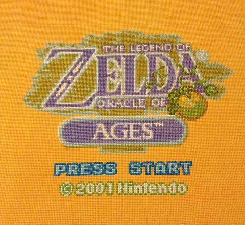 Zelda  Sprite Stitch  Part 2