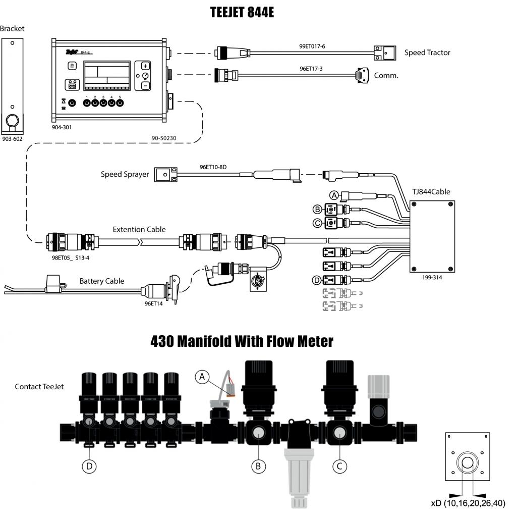teejet valves wiring