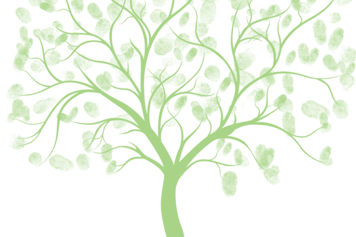 free wedding thumb tree download