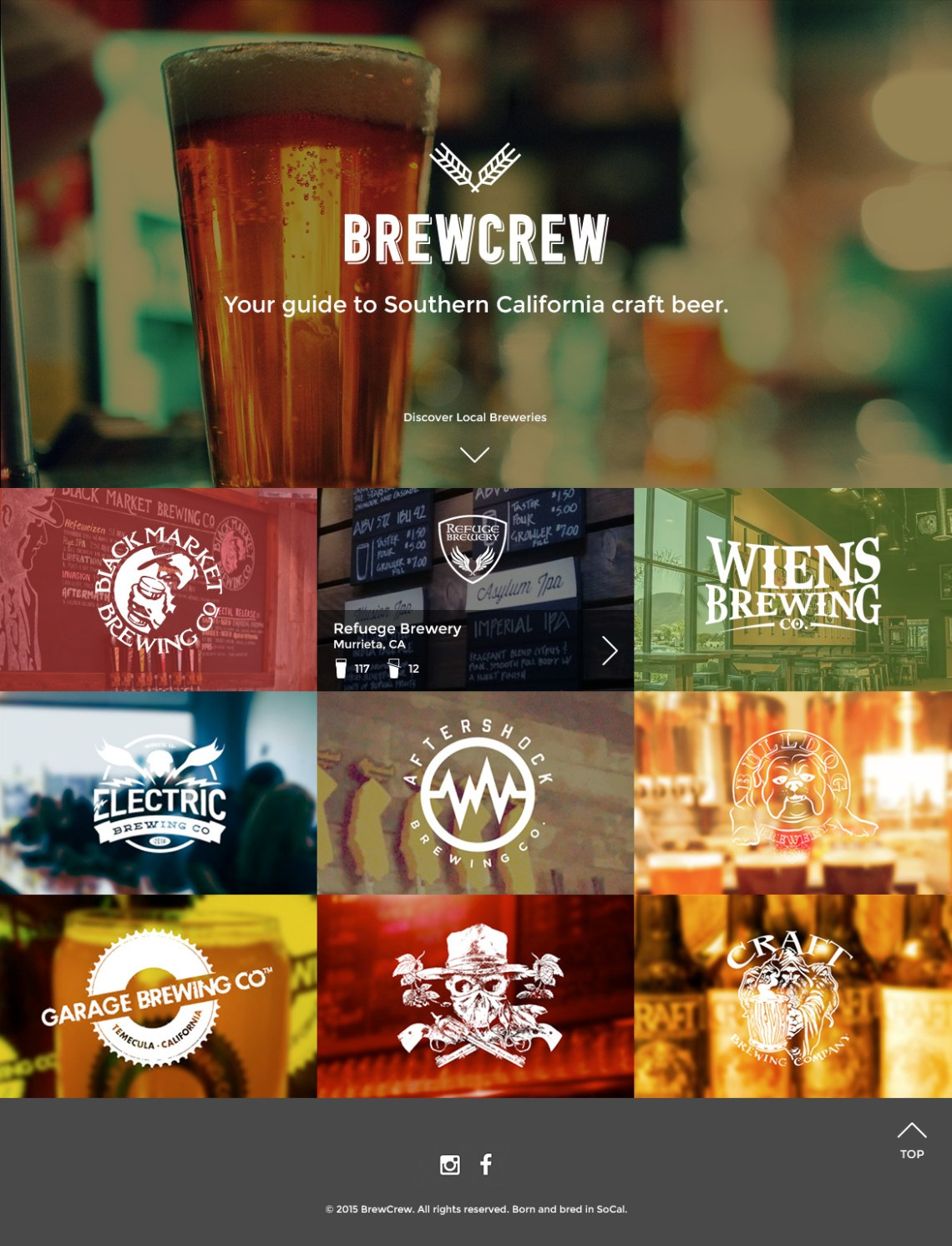 brew crew beer directory for temecula breweries