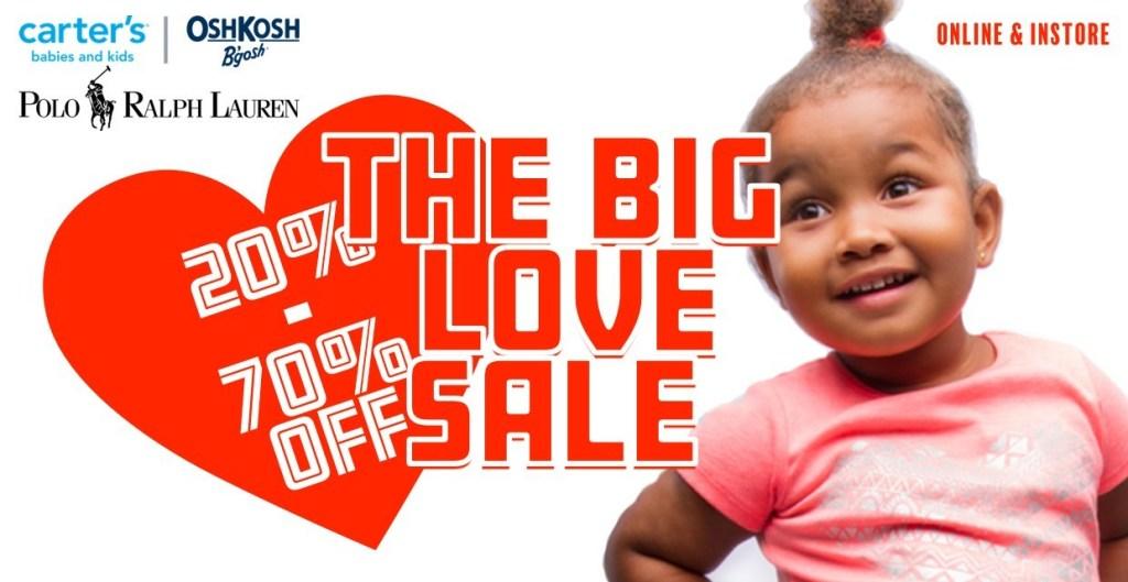 THE BIG LOVE SALE