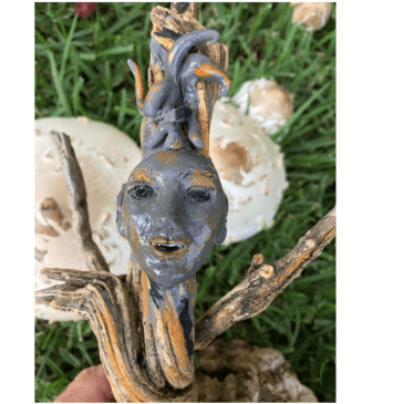 The WoodSprite Woman