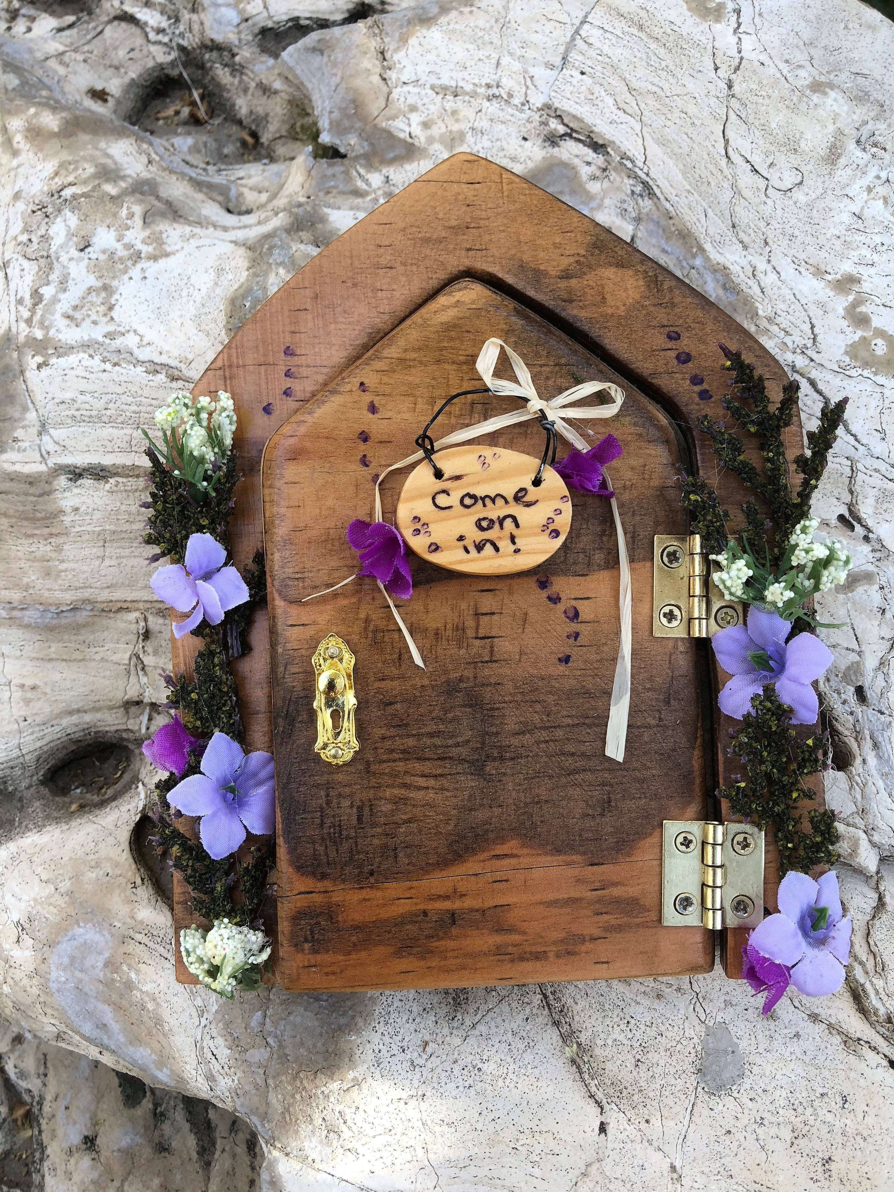 Sprouted Dreams Fairy Doors