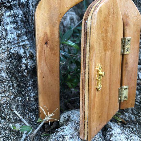 Fairy Door (gold hardware)