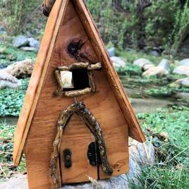 Alpine Fairy House