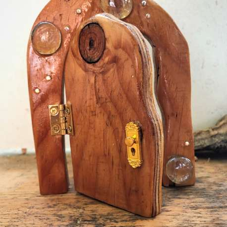 Starry Night Fairy Door (1)