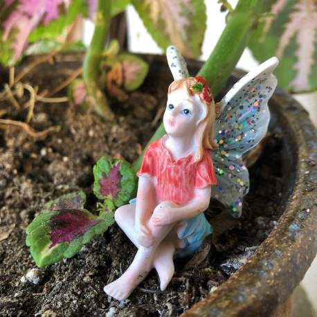 Seated Blue Fairy from Sprouted Dreams (1)