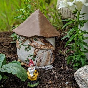 Spring Yellow Fairy Garden by Sprouted Dreams8