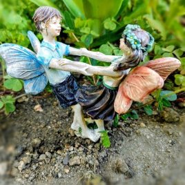 Fairy Boy and Girl Dancing
