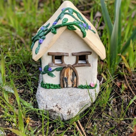 Gnome Cottage Handmade by Sprouted Dreams5