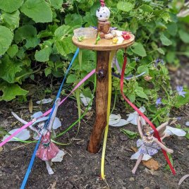 Fairy Maypole and Bubble Blower Set