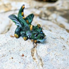 Miniature Green Dragon