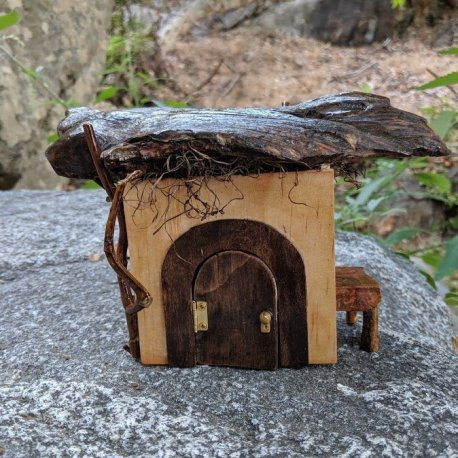 Timbertop Cottage handmade by Sprouted Dreams