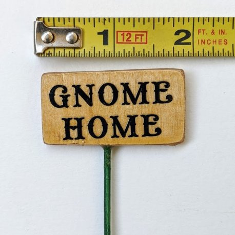 Gnome Home Sign2