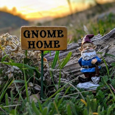 Gnome Home Sign8