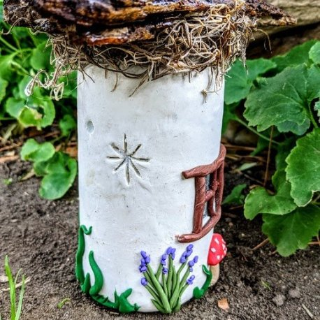 Mossy Top Light Up Fairy House2