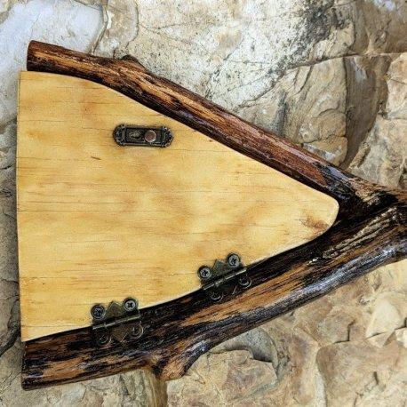 Angled Oak Fairy Door3