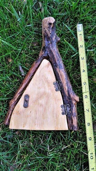 Angled Oak Fairy Door9