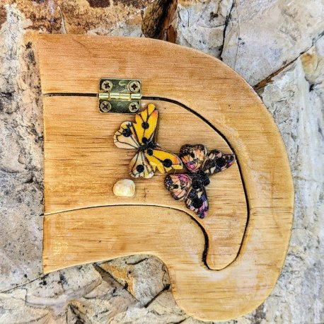 Butterfly Fairy Door Handcrafted by Sprouted Dreams