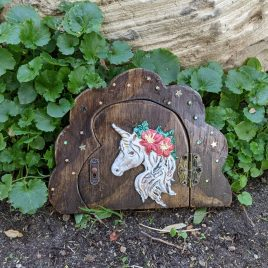Dreamland Unicorn Fairy Door