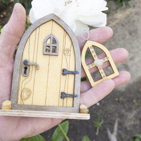 Fairy Tree Door and Window Set4