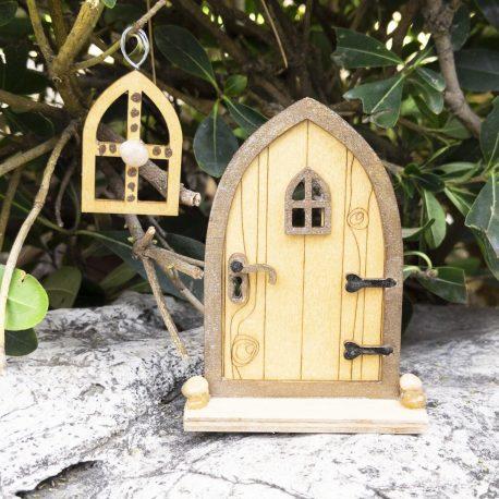Fairy Tree Door and Window Set8
