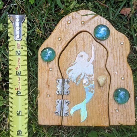 Mermaid Garden Door size