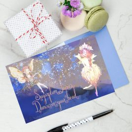 Sugarplum Fairies Card