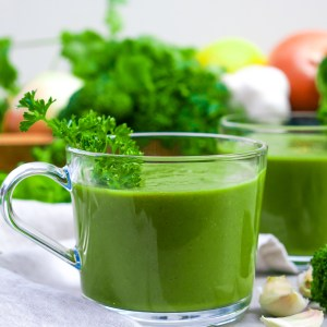 Green Detox Soup (Gluten Free, Paleo, Vegan)