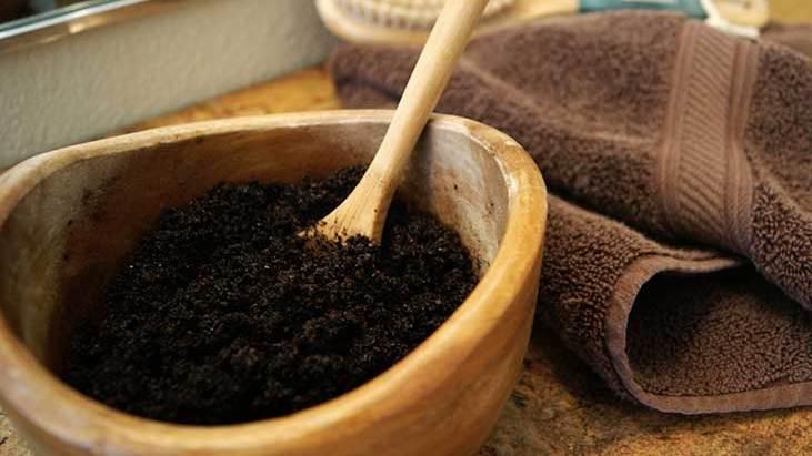 Ground Coffee Body Scrub