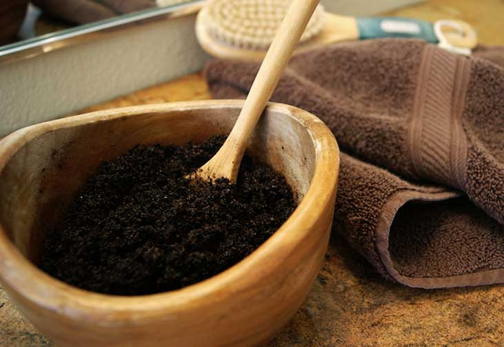 Ground Coffee Body Scrub