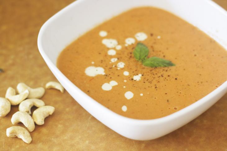 Tomato Basil Soup Dairy Free