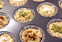 GF Rolled Oats Muffins