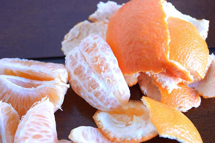 Oranges for temporary anxiety relief