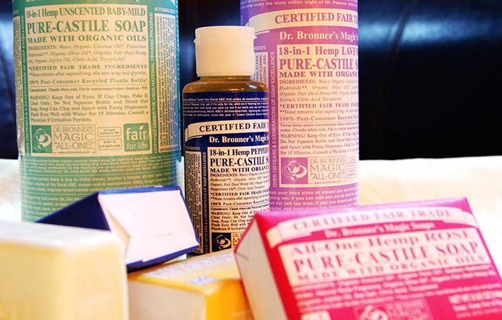 Castile Soap Warnings