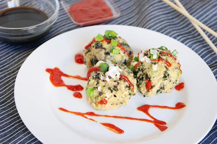 Meatless Sushi Balls