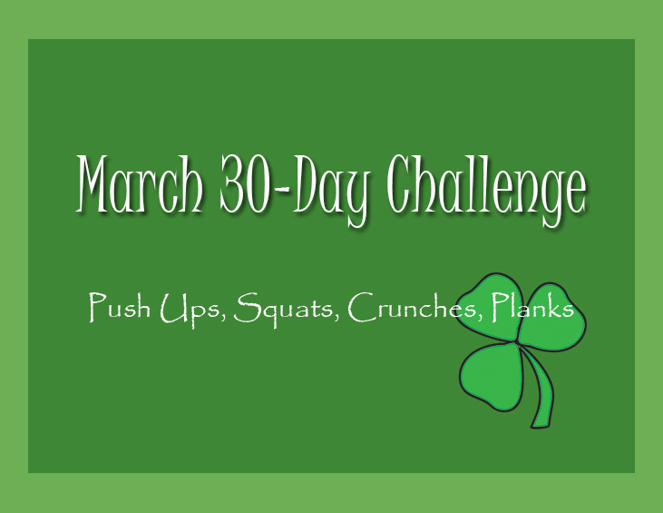 30 Day Simple Fitness Challenge