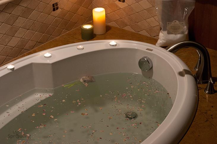 Soothing Herbal Baths