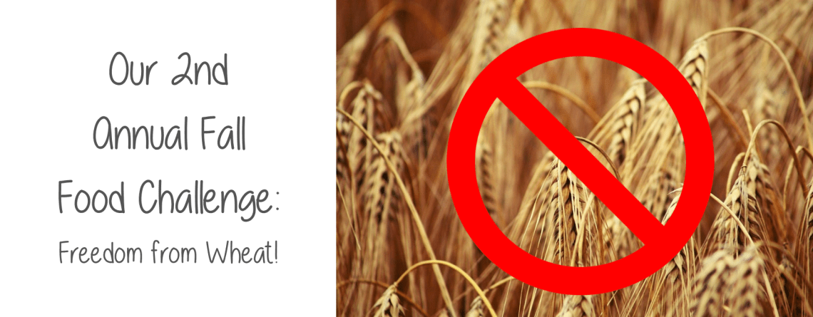 Our 2nd Annual Fall Food Challenge: Freedom From Wheat