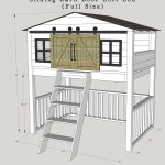 Sliding Barn Door Loft Bed Spruc D Market