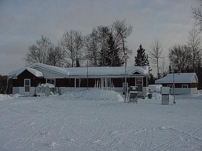 Winter Ice Fishing  Snowmobiling in Shining Tree Ontario