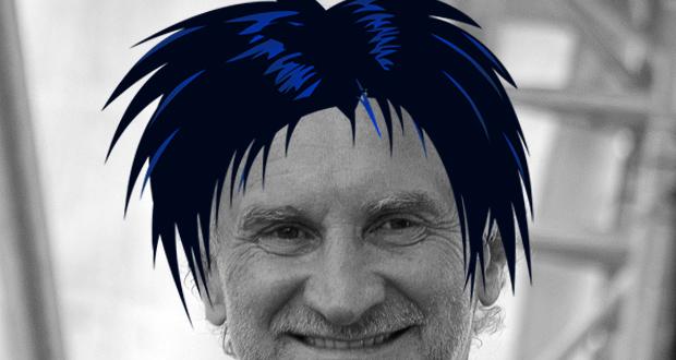 Rudi Völler mit ner coolen Frisur