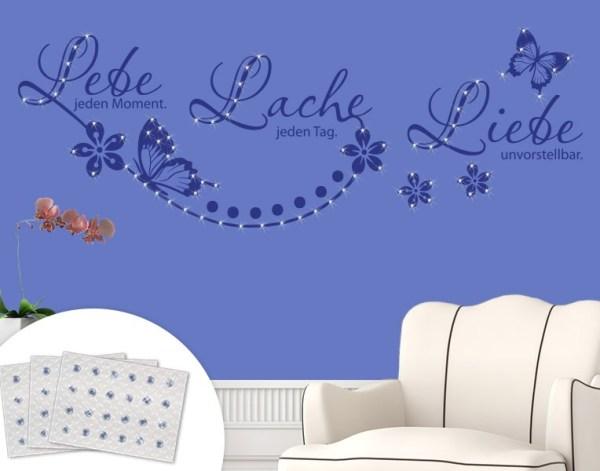wandtattoo spr che und zitate auf. Black Bedroom Furniture Sets. Home Design Ideas