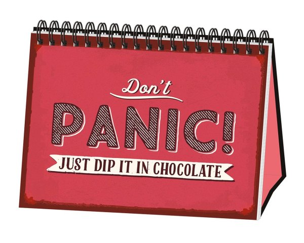 Don´t Panic! Just dip it in Chocolate!