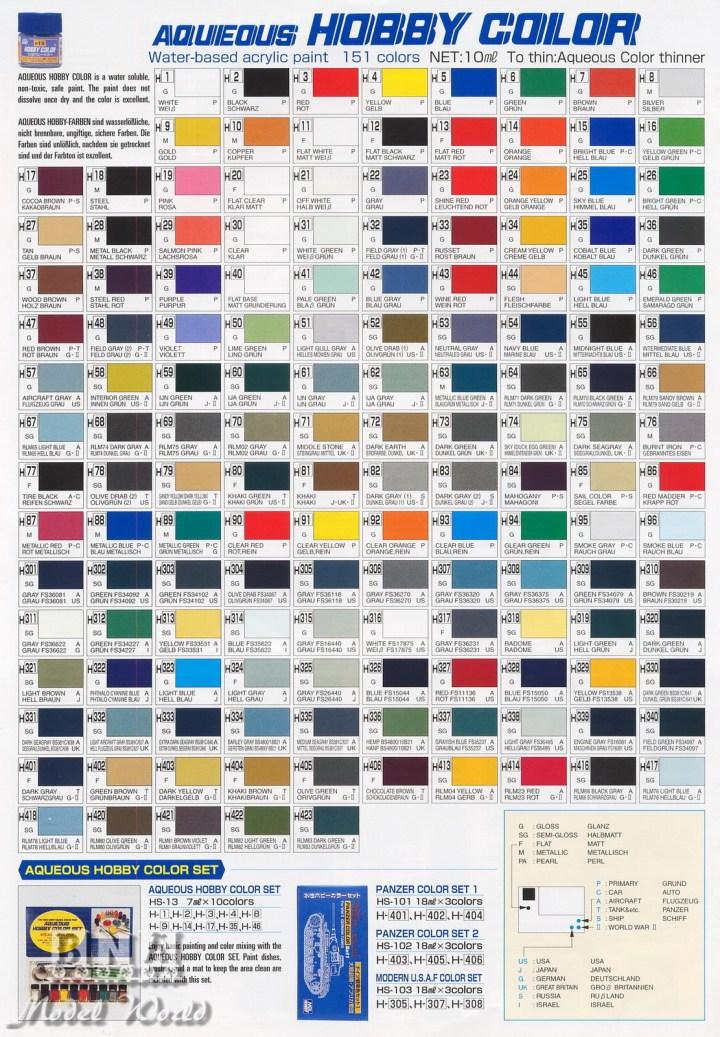 Mr Color Paint Range Irfandiawhite