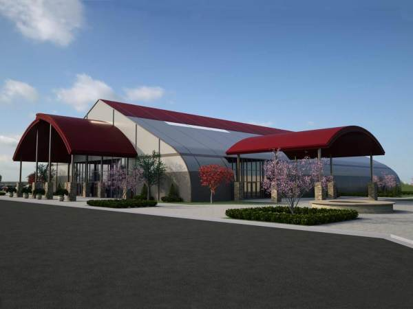 Church Buildings Prefab Structure Design - Sprung