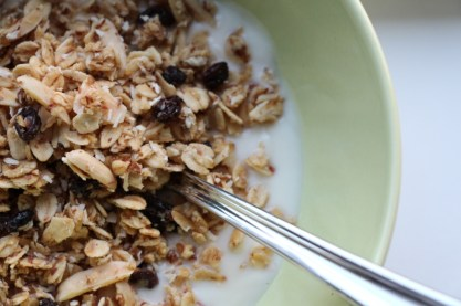 Ginger Currant Granola