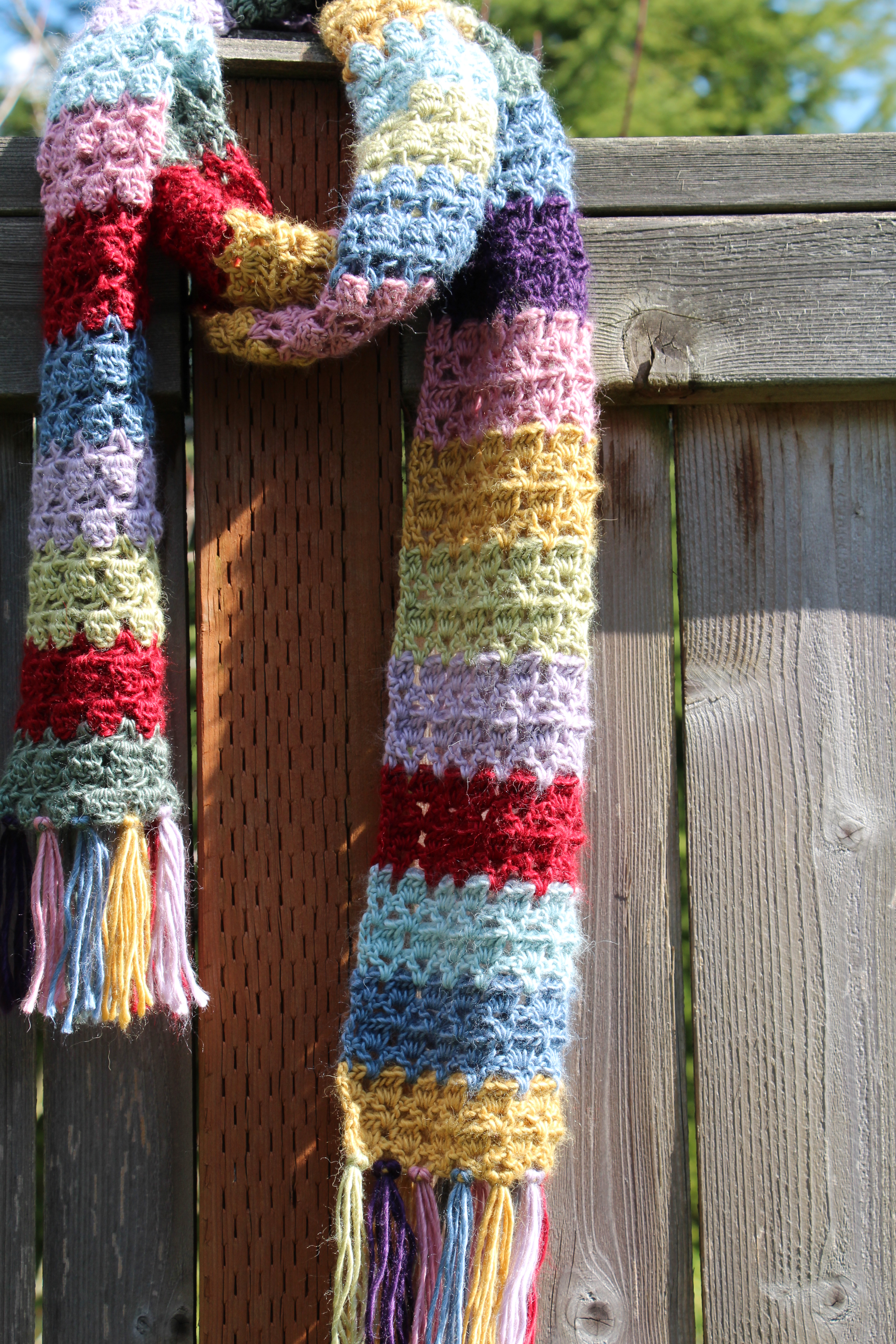 The Girly Doctor Who Scarf
