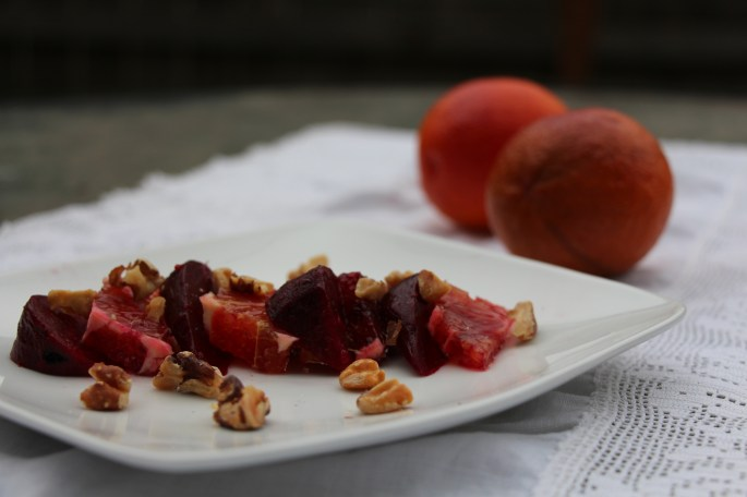 Marinated Beets With Orange